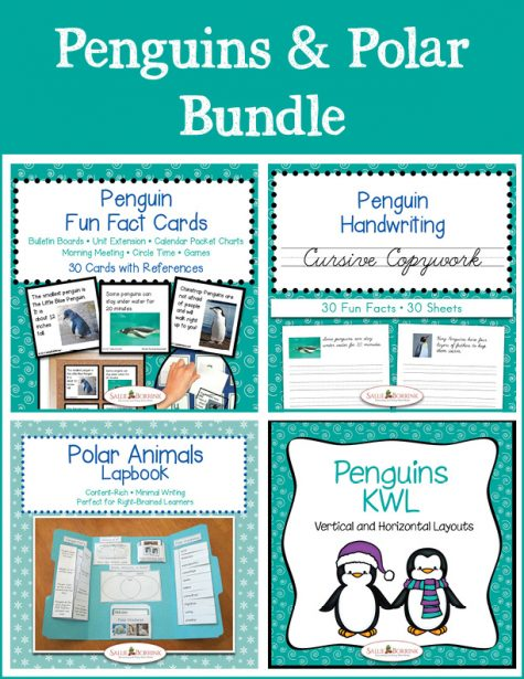 Penguins and Polar Bundle - Cursive