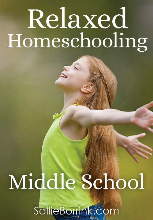 Relaxed Homeschooling in Middle School