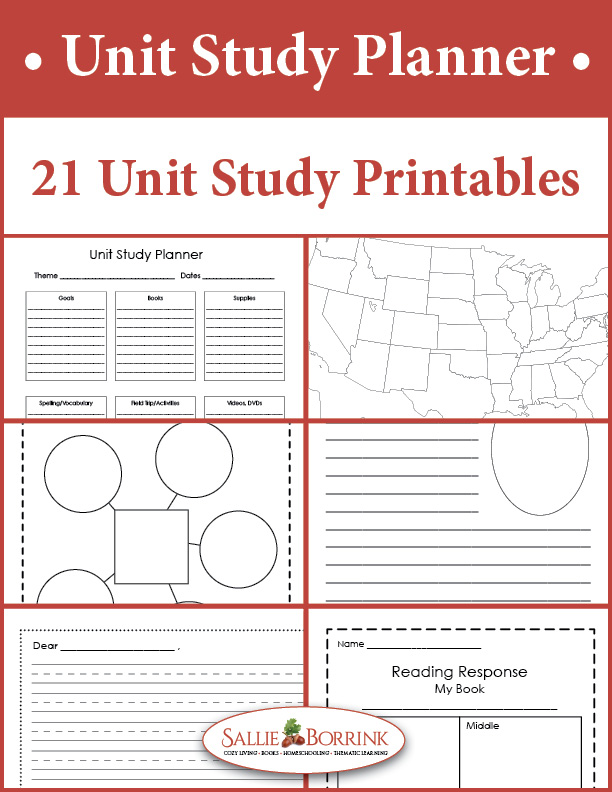 Unit Study Planner and Flexible Unit Study Printables