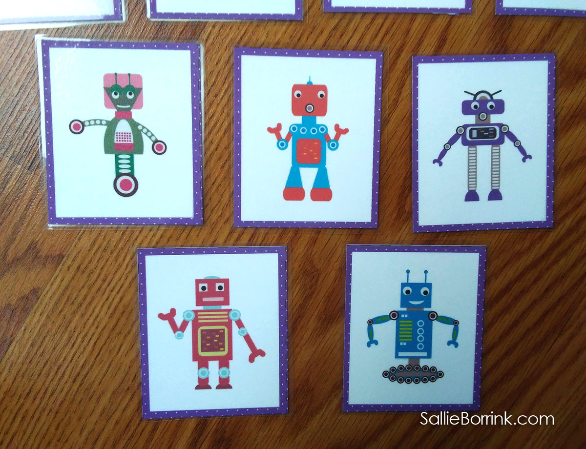 Robots Memory Game