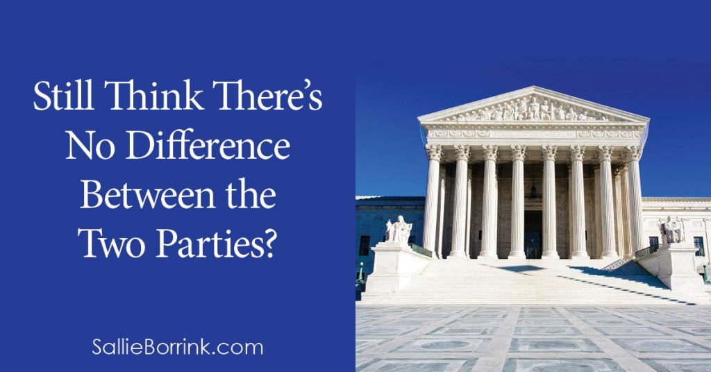 Still Think There's No Difference Between the Two Parties?