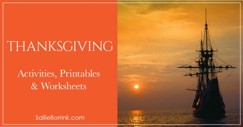 Thanksgiving Activities Printables and Worksheets 2