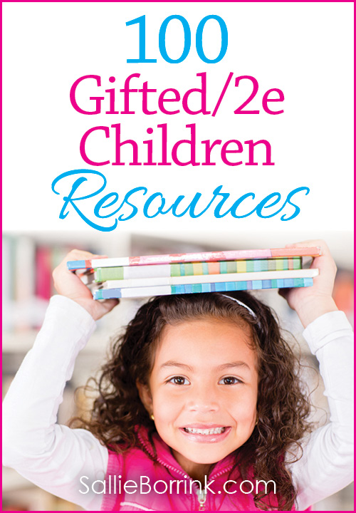 100 Gifted and 2e Children Resources