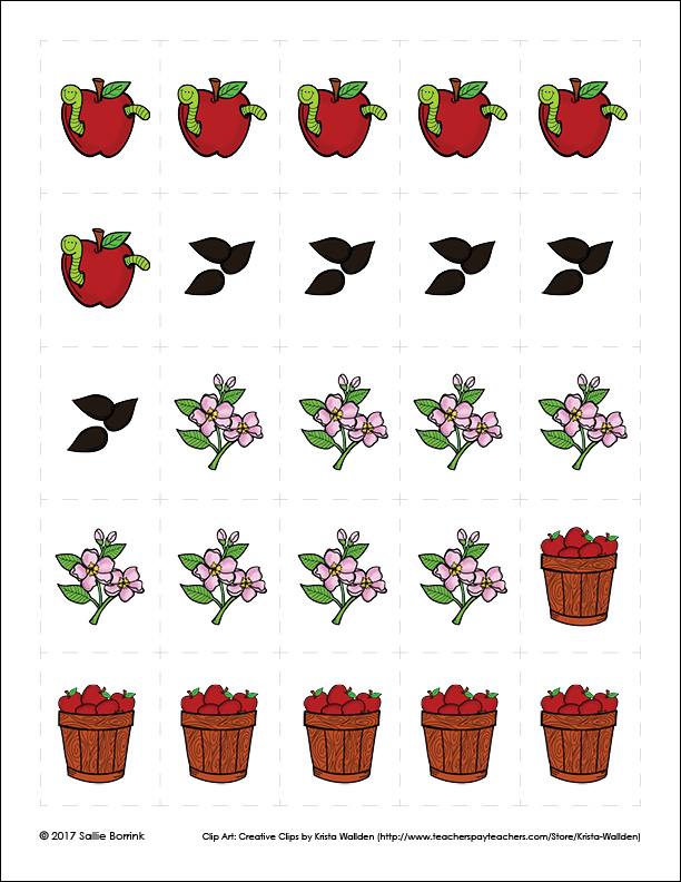 Apples Graphing Activity page 3