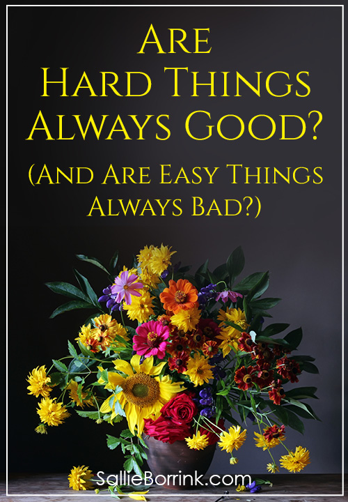 Are Hard Things Always Good and Are Easy Things Always Bad