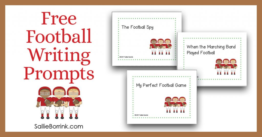 Free Football Writing Prompts 2