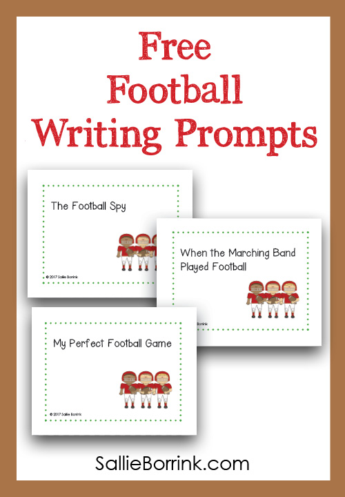Free Football Writing Prompts