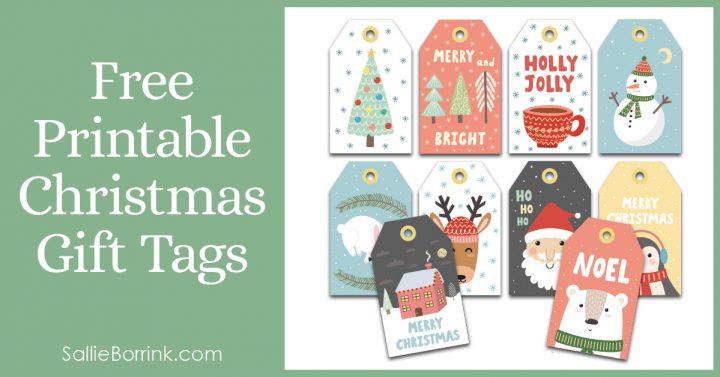 Free Printable Christmas Gift Tags Pin 2