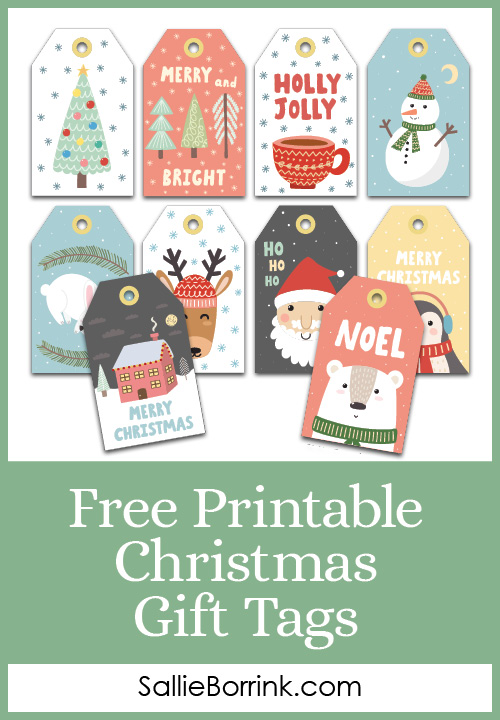 Free Printable Christmas Gift Tags Pin