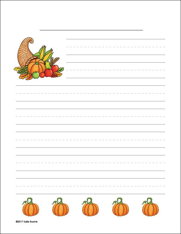 Cornucopia and Pumpkins 1