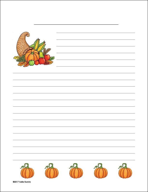 Cornucopia and Pumpkins 2