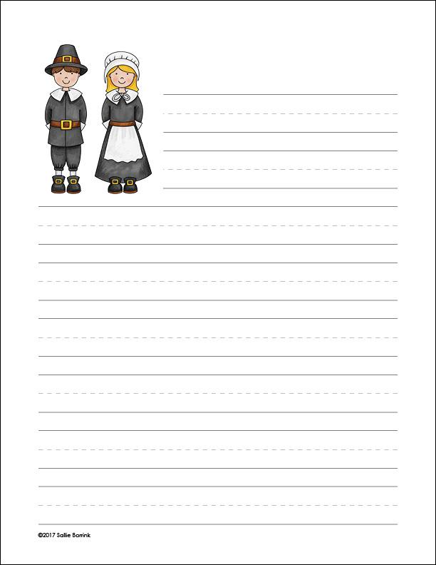 Pilgrim Boy and Girl 1