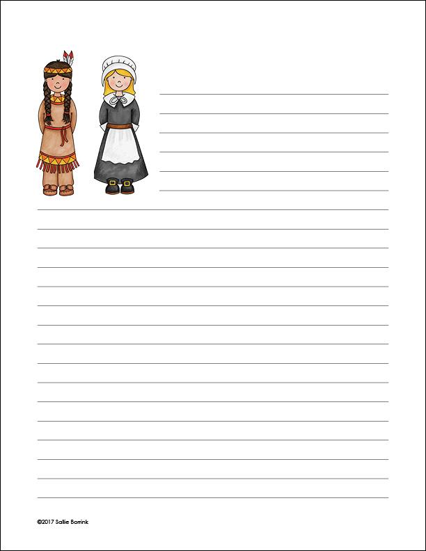 Pilgrim and Indian Girls 2