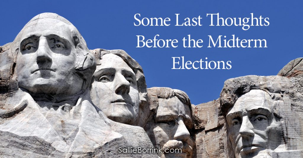 Some Last Thoughts Before the Midterm Elections