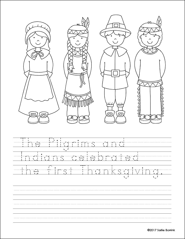 Pilgrims and Indians 1