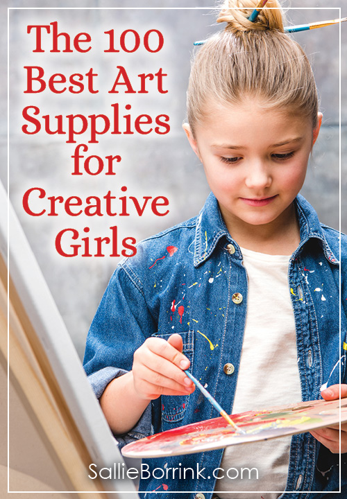 Art supplies for girls