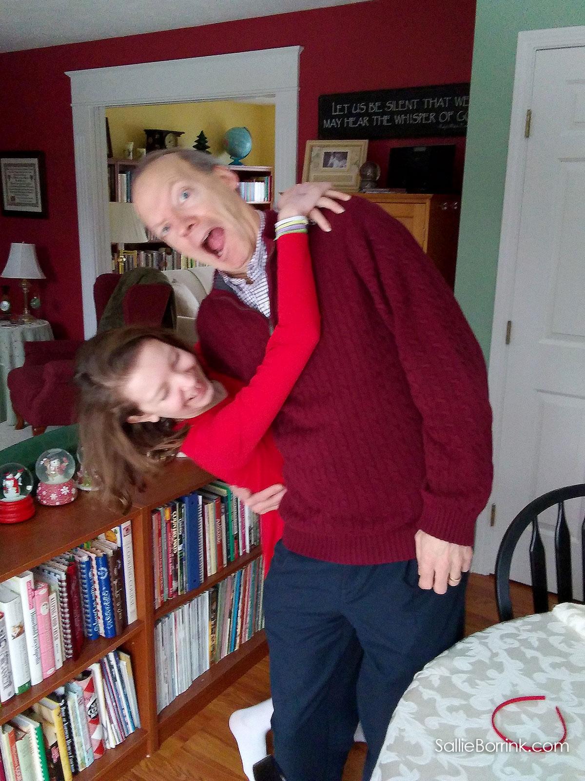 David and Caroline in December 2018 2