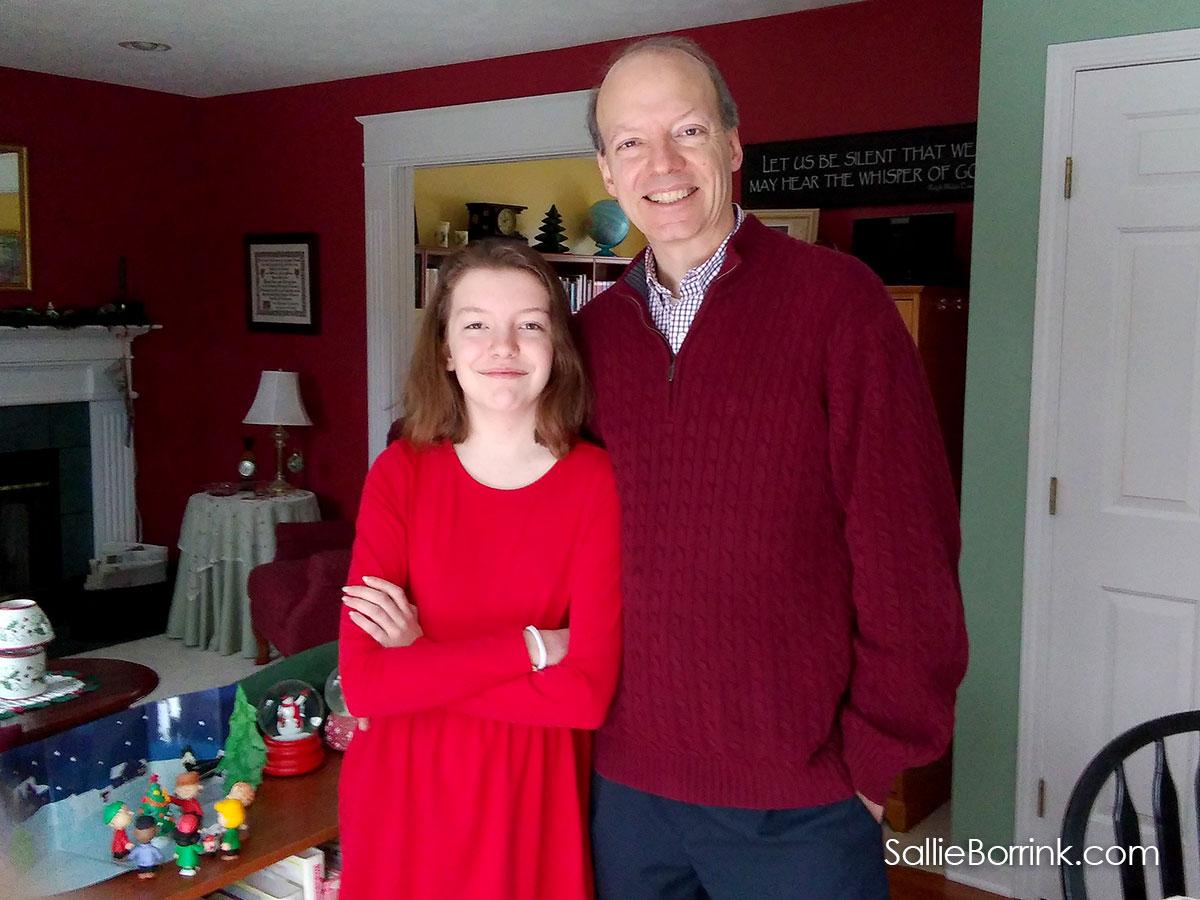 David and Caroline in December 2018