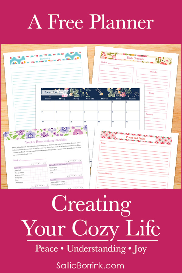 Creating a Cozy Life Planner - Series Pin