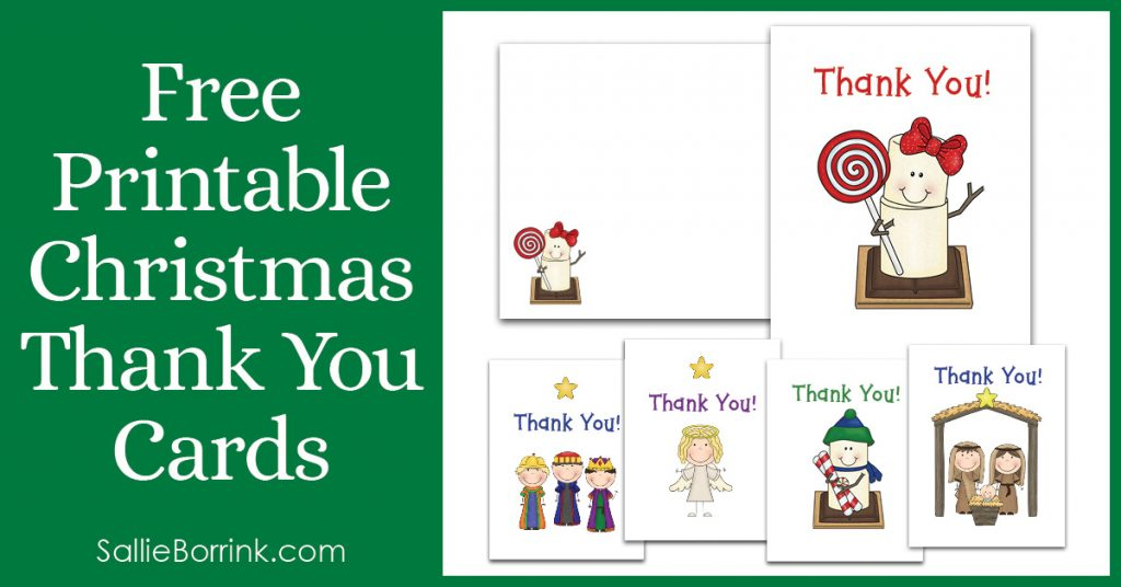 image relating to Christmas Thank You Cards Printable Free called Absolutely free Printable Xmas Thank By yourself Playing cards - A Serene Basic
