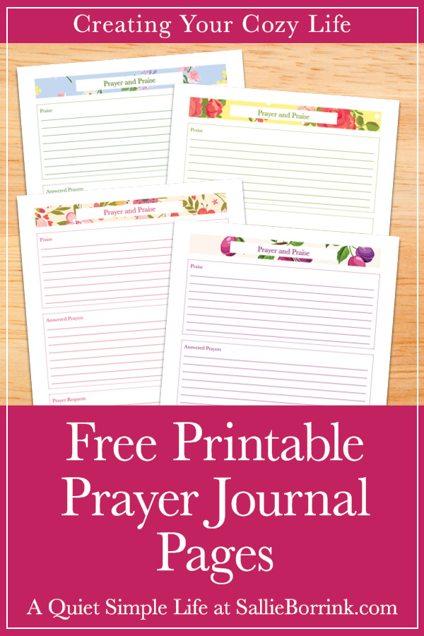 It's just a picture of Canny Printable Prayer Journal Pdf