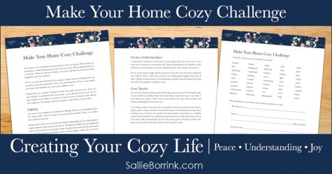 Make Your Home Cozy Challenge - Creating Your Cozy Life Planner 2
