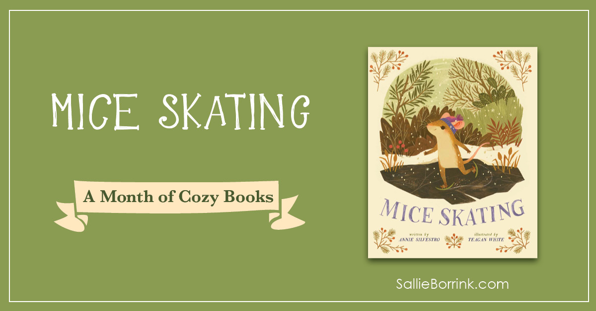 Mice Skating - A Month of Cozy Books 2