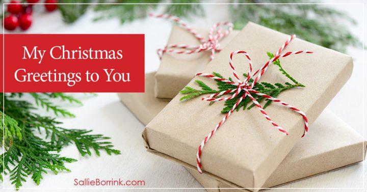 My Christmas Greetings to You 2