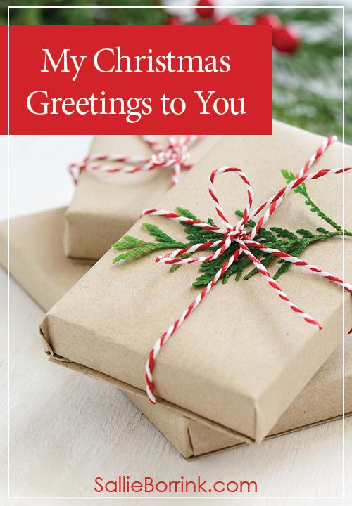 My Christmas Greetings to You
