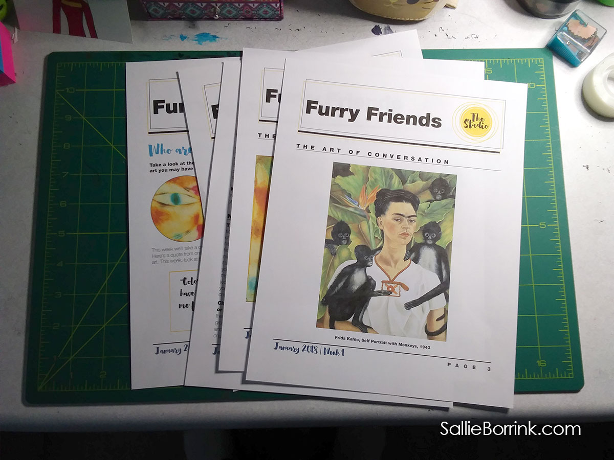 Furry Friends with Art History for Kids