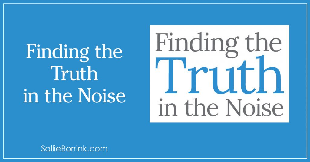 Finding the Truth in the Noise 2