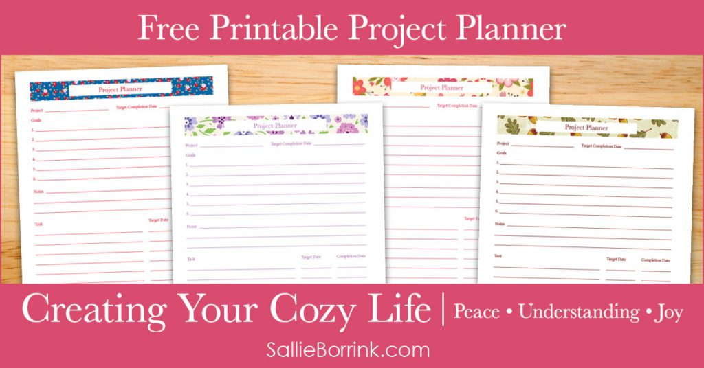 Creating Your Cozy Life Planner Free Printables Archives Page 3