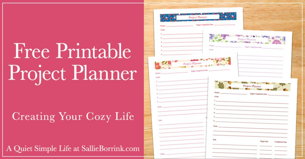 photo relating to Free Printable Project Planner identify Totally free Printable Venture Planner - A Serene Uncomplicated Existence with