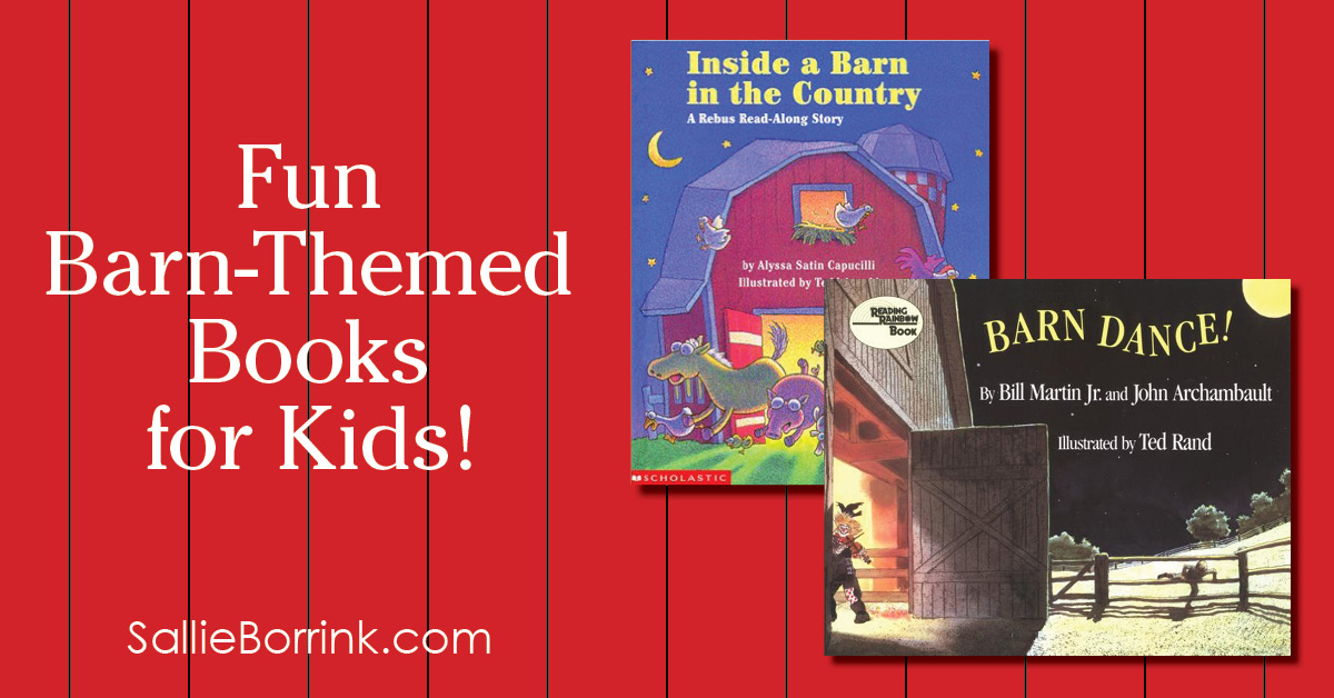 Fun Barn-Themed Books for Kids 2