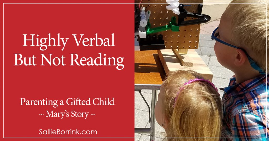 Highly Verbal But Not Reading - Mary's Story 2
