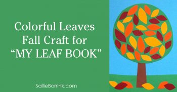 Colorful Leaves Fall Craft for My Leaf Book 2