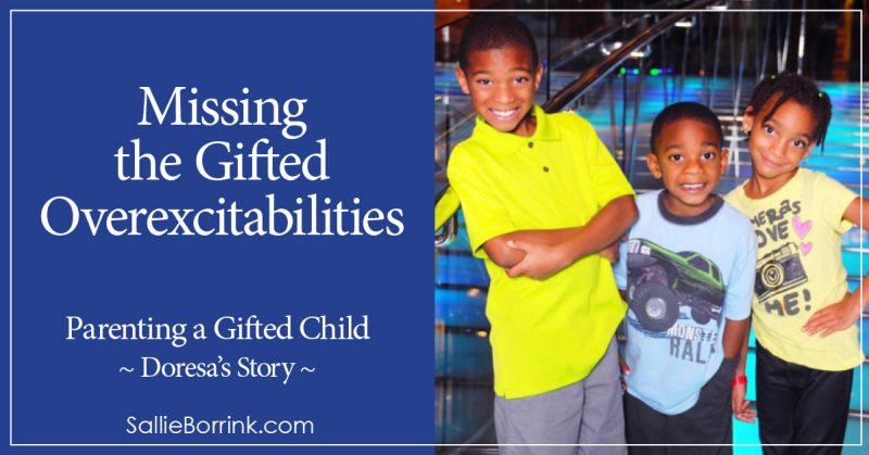 Missing the Gifted Overexcitabilities - Doresa's Story 2