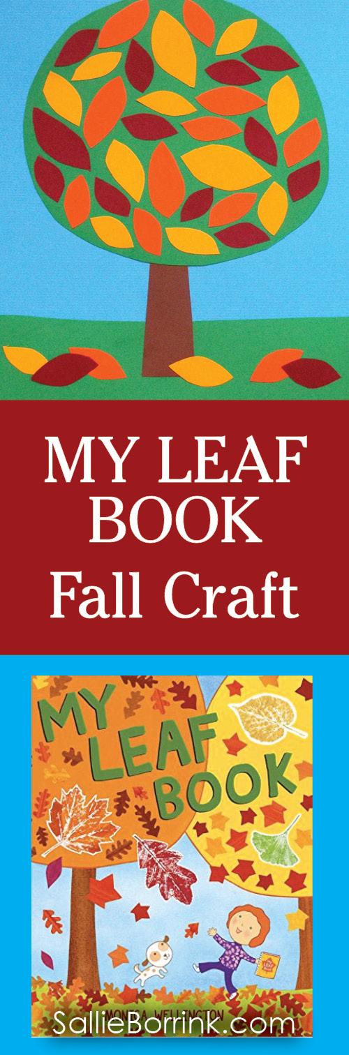 My Leaf Book Pin Art and Book