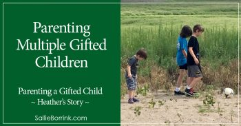Parenting Multiple Gifted Children - Heather's Story 2