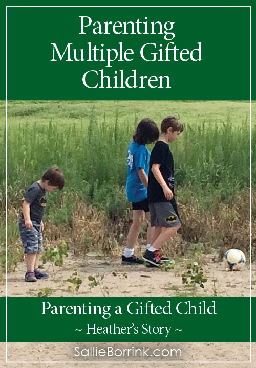 Parenting Multiple Gifted Children – Heather's Story