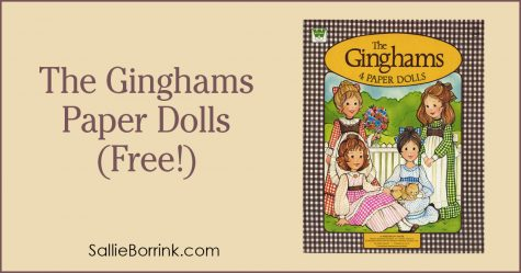 The Ginghams Paper Dolls (Free!) 2