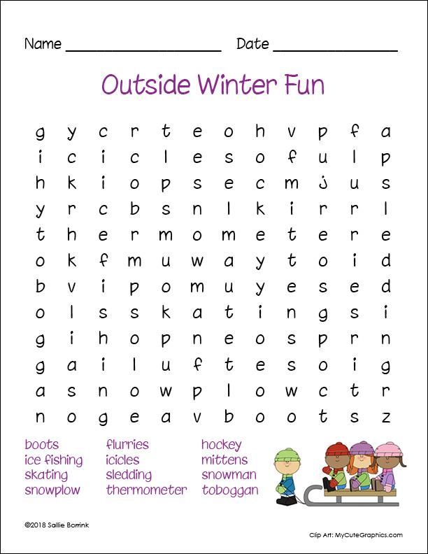 Outside Winter Fun