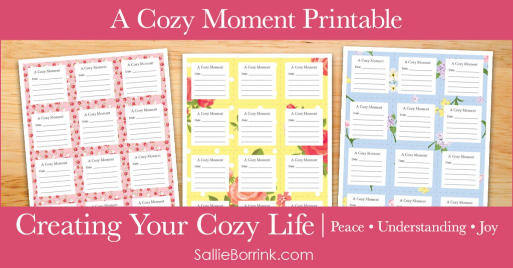 A Cozy Moment - Creating Your Cozy Life Planner 2