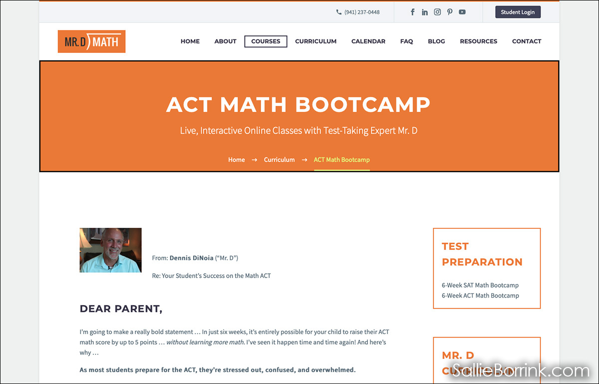 Dr. D ACT Bootcamp