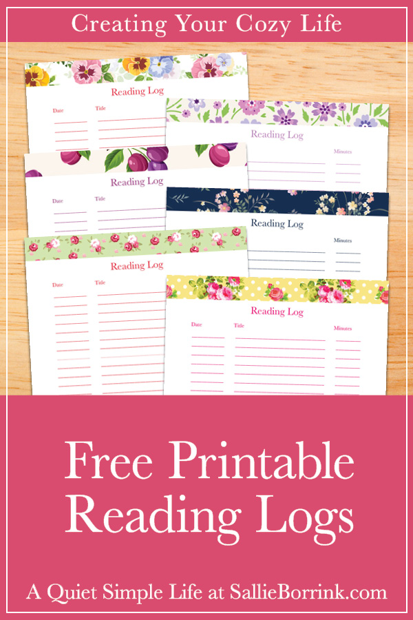 photo relating to Printable Reading Logs known as Absolutely free Printable Examining Logs - A Calm Easy Lifetime with