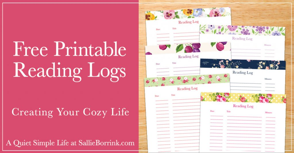 photograph relating to Free Printable Reading Logs named No cost Printable Looking through Logs - A Relaxed Easy Lifestyle with