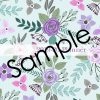2019-20 Lavender and Teal Flowers Planner 8