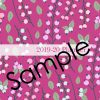 2019-20 Pink and Teal Flowers Planner 6