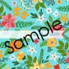 2019-20 Turquoise and Orange Flowers Planner 13