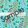 2019-20 Turquoise and Orange Flowers Planner 6